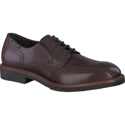 Mephisto Men's Nelson Bicycle Toe Shoe Brown Antica Smooth Leather