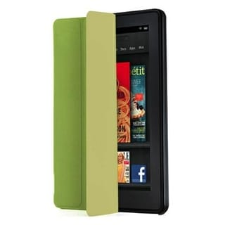 iLuv - Epicarp Slim Folio Cover for Amason Kindle Fire - Green
