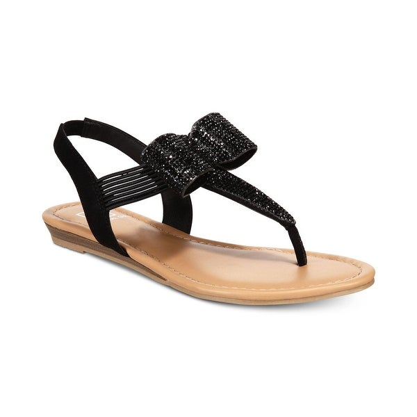 Material Girl Womens Seana Fabric Open Toe Casual Slingback Sandals. Opens flyout.