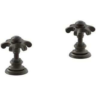 Kohler K-98068-3M Artifacts Prong Handles for Bathroom Faucet