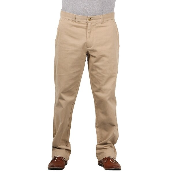 Shop Black Brown 1826 Men S Classic Fit Twill Chino Pant