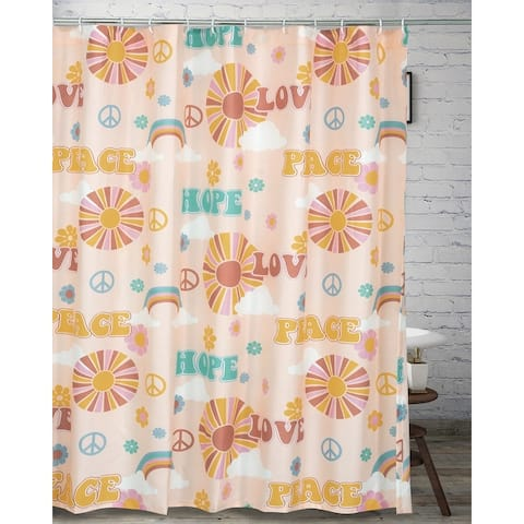 Greenland Home Fashions Cassidy Shower Curtain - 72 x 72 inches