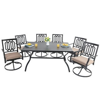 PHI VILLA 7 Piece Outdoor Dining Set