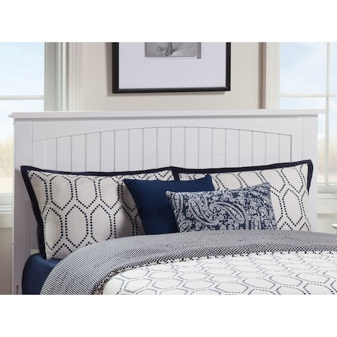 Nantucket Solid Hardwood Panel Headboard
