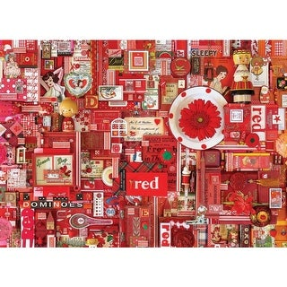 Red, A 1000 Piece Jigsaw Puzzle by Cobble Hill