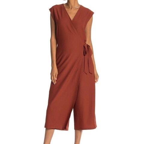 Eileen Fisher Womens Small Crepe Stretch Jumpsuit