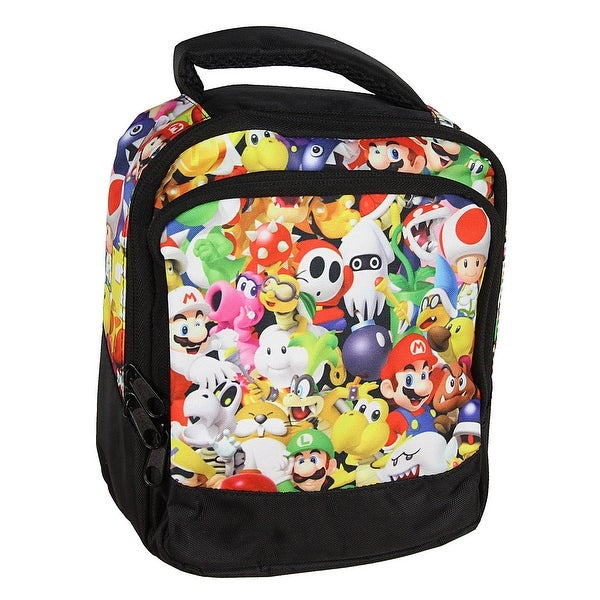 e45158bd231 Shop Nintendo Super Mario Bros Character Art Sublimation Zip Lunchbox Lunch  Tote - Free Shipping On Orders Over  45 - Overstock - 18956107