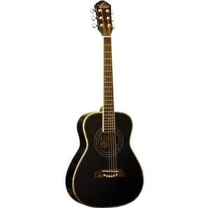 O S Half Size Acoustic SS Black