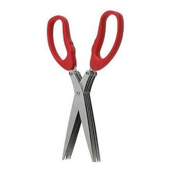HIC 43223 Multi-Blade Herb Scissor, Stainless Steel