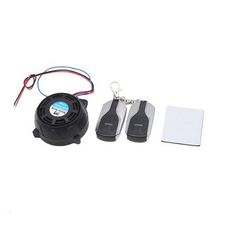 9-16V 315MHz Motorcycle Scooter Remote Control Anti-theft Alarm Security System