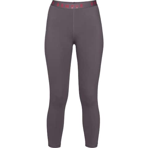 Under Armour Womens Athletic Leggings Fitness Running - Purple - XL