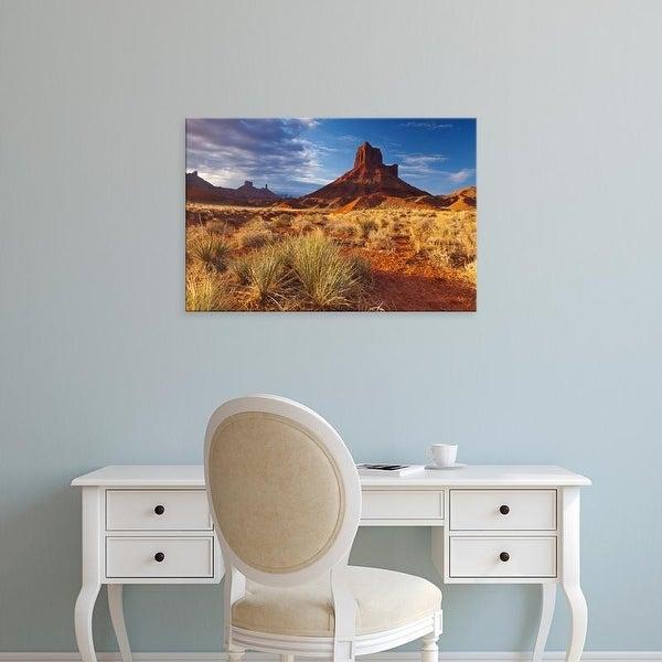 Easy Art Prints Chuck Haney's 'Parrott Mesa Near Moab' Premium Canvas Art