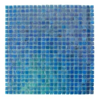 "Miseno MT-POCKET3/8SQ Pocket - 3/8"" X 3/8"" - Glass Visual - Wall Tile (Sold by S (Option: Orange)