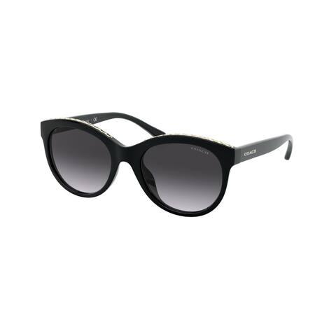 Coach HC8297U 50028G 52 Black Woman Phantos Sunglasses