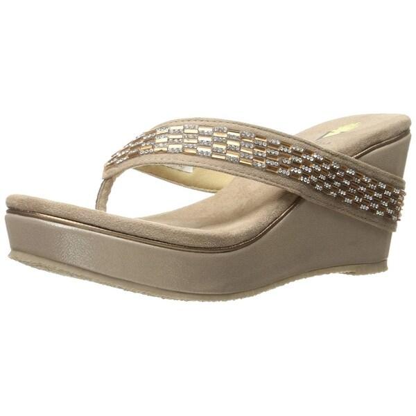 c9f1ff31c Shop Volatile Women s Carilla Wedge Sandal - Free Shipping On Orders ...