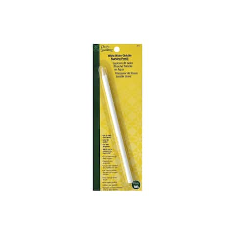 Dritz Quilting Water Soluble Marking Pencil White