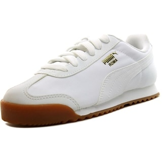 Puma Roma Basic Summer Round Toe Canvas Sneakers