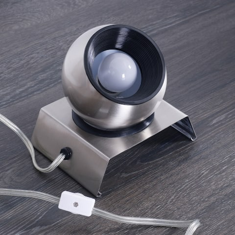 Gilmour Brushed Steel Indoor Spot Light