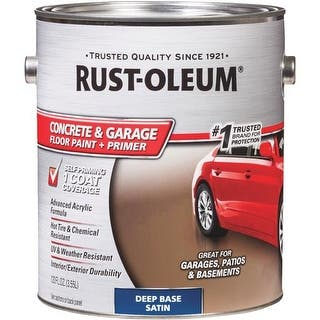 Rust-Oleum Deep Tint Gar Flr Paint 319550 Unit: GAL|https://ak1.ostkcdn.com/images/products/is/images/direct/6e0c71c1a5e43237e1b8b2b9c32f8a53a961f288/Deep-Tint-Gar-Flr-Paint-319550-Rust-Oleum.jpg?impolicy=medium
