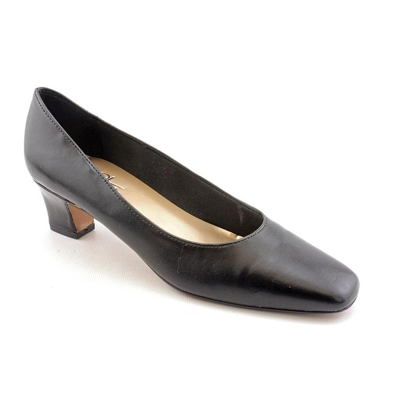 Life Stride Jade Women Round Toe Synthetic Black Heels