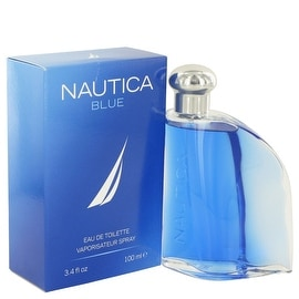 NAUTICA BLUE by Nautica Eau De Toilette Spray 3.4 oz - Men