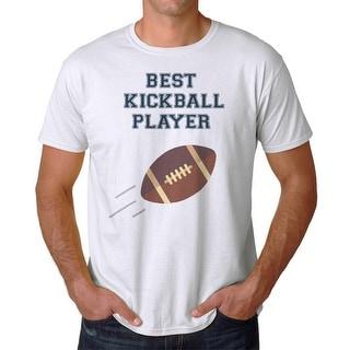 Best Kickball Player Men's White T-shirt