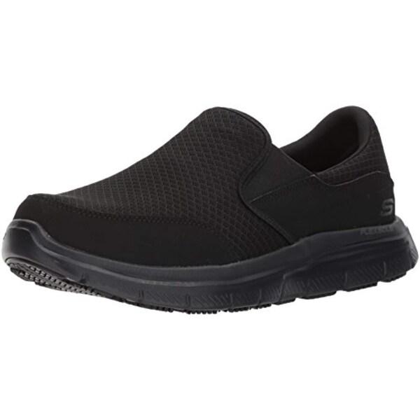 b957f0d8db05 Shop Skechers For Work Men s Flex Advantage Mcallen Food Service Shoe