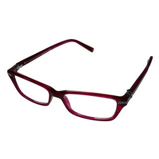 Swarovski Womens Opthalmic Frame Rectangle Pink Plastic SK5081 77 - Medium
