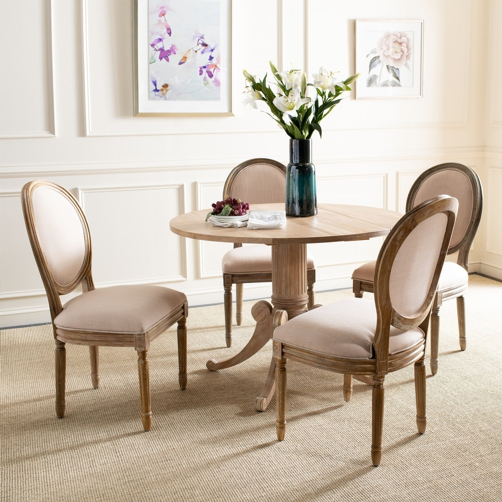 Safavieh Dining Old World Holloway Oval Dining Chairs (Set of 2)