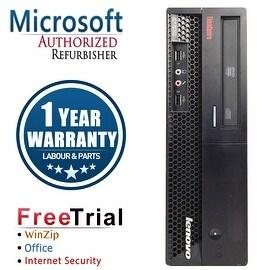 Refurbished Lenovo ThinkCentre M58P SFF Intel Core 2 Duo E8400 3.0G 8G DDR3 1TB DVD Win 7 Pro 1 Year Warranty