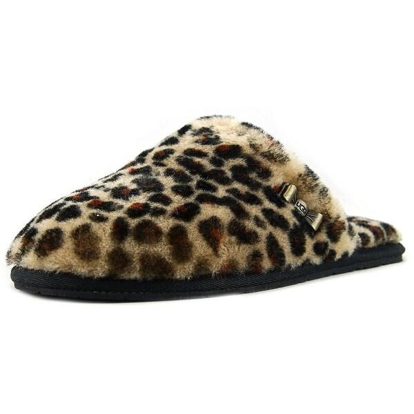 d87e2af5c62 Shop Ugg Australia Leopard Clog Women Round Toe Canvas Slipper ...
