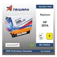 Triumph Remanufactured 507A Toner Cartridge - Yellow Toner Cartridge