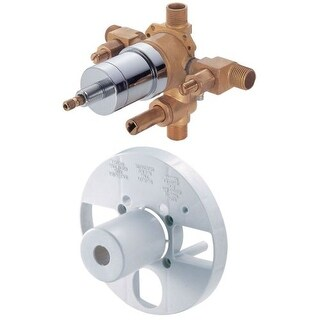 Danze D113000BT Pressure Balanced Universal Mixing Valve with Diverter
