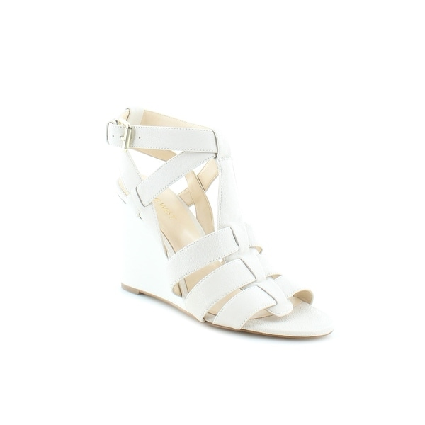 Nine West Farfalla Women's Sandals & Flip Flops Off wHITE