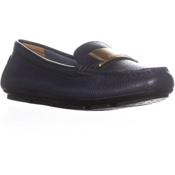 Calvin Klein Lisette Slip-On Dress Loafers, Deep Navy - 8 us / 38 eu