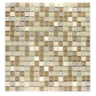 "Miseno MT-GEMSTONE5/8X15 Gemstone - 5/8"" X 15"" - Glass Visual - Wall Tile (Sold by Sheet)"
