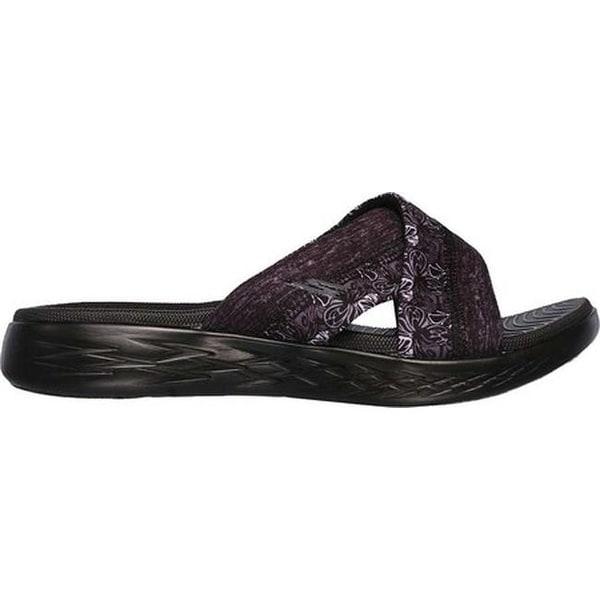 GO 600 Monarch Slide Sandal Black