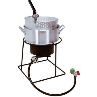 "King Kooker 1205 Portable Propane Outdoor Cooker, 12"""