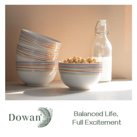 DOWAN 30 oz. 4 Piece Dining Bowl Set