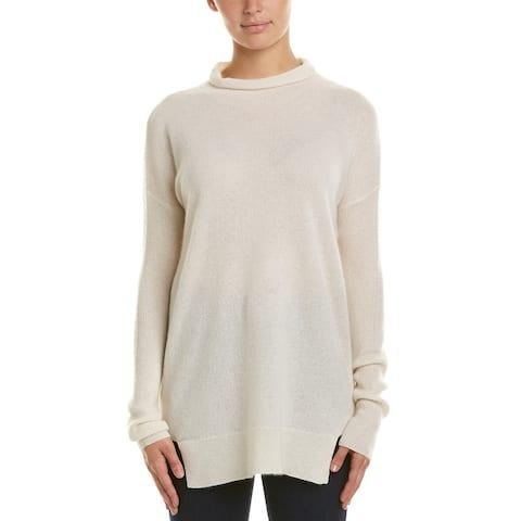 White + Warren Mock Neck Cashmere Sweater