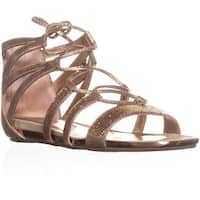 Kenneth Cole REACTION Lost Look 2 Gladiator Sandals, Light Gold - 10 us