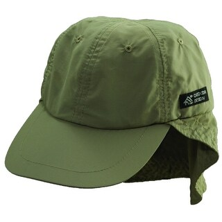 Dorfman Pacific CoolMax Sun Neck Shield Fishing Baseball Hat
