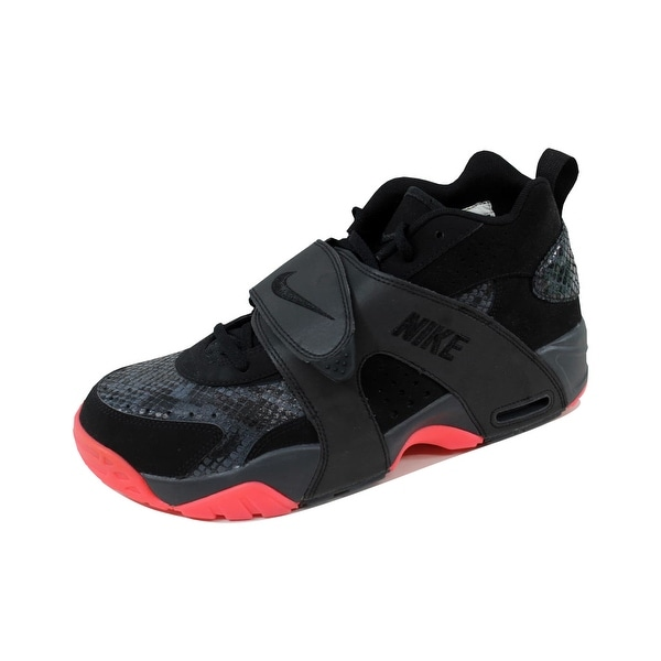 Nike Men's Air Veer Premium Black/Black-Anthracite-Atomic Red 599443-002 Size 10.5