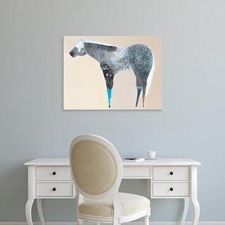 Easy Art Prints Anthony Grant's 'Horse No. 66' Premium Canvas Art