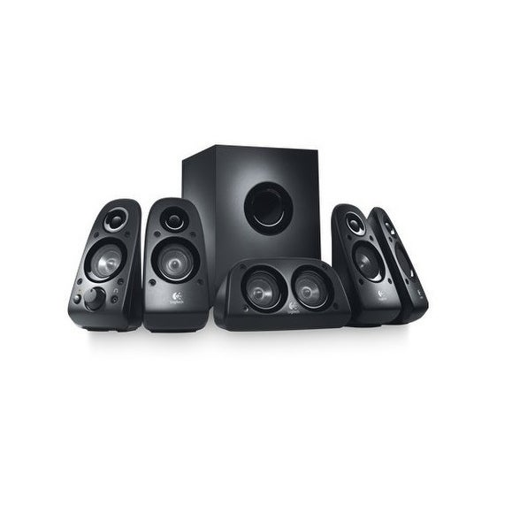 Logitech 980-000430 Z506 5.1 Channel Surround Sound Speakers And Subwoofer