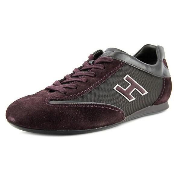 Hogan Olympia Uomo Women Suede Purple Fashion Sneakers