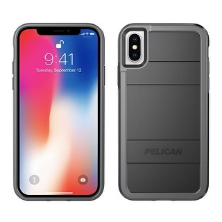 Pelican Protector Dual Layer Rugged Protection Case for iPhone X - Black