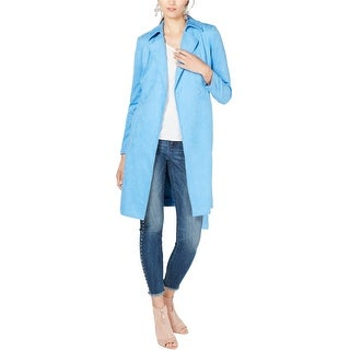 Link to I-N-C Womens Suede Trench Coat Similar Items in Women's Outerwear