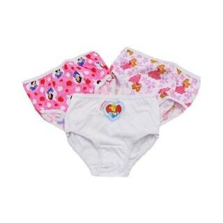 Disney Girls 2T-4T Princess Panty - 3 Pack - Multi