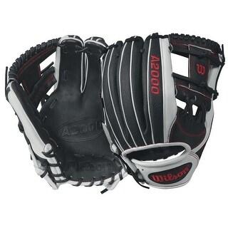 2018 Wilson A2000 1787 SuperSkin Baseball Glove, White/Red/Black, 11.75, Right Hand Throw